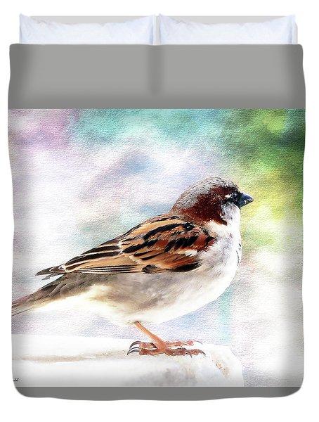 Sparrow Beauty 0004. Duvet Cover
