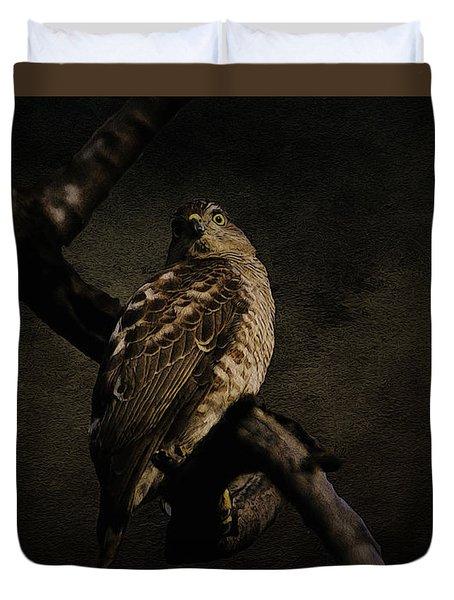 Sparrow Hawk Duvet Cover