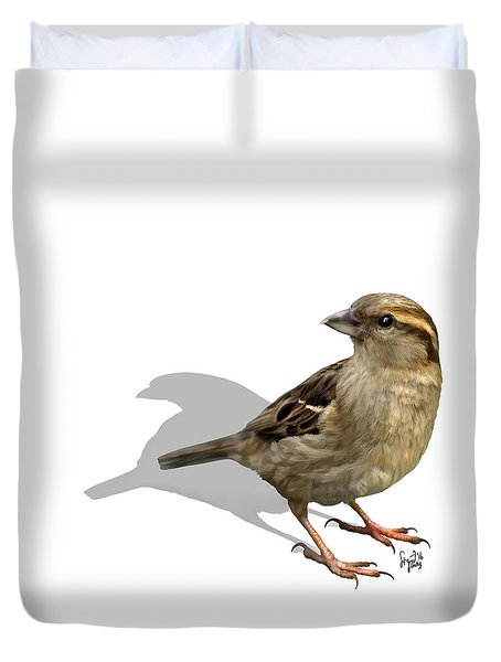 Sparrow Duvet Cover