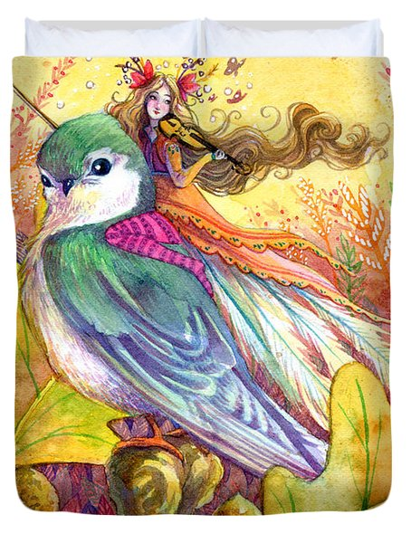 Sparrow S Song Painting By Sara Burrier