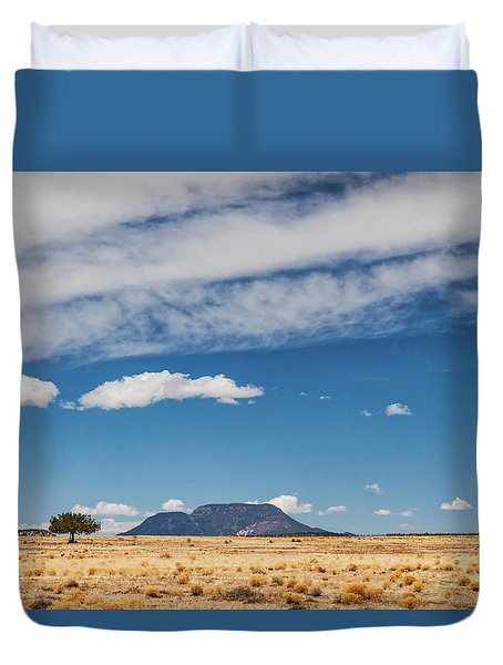 Duvet Cover featuring the photograph Sparse by Rick Furmanek