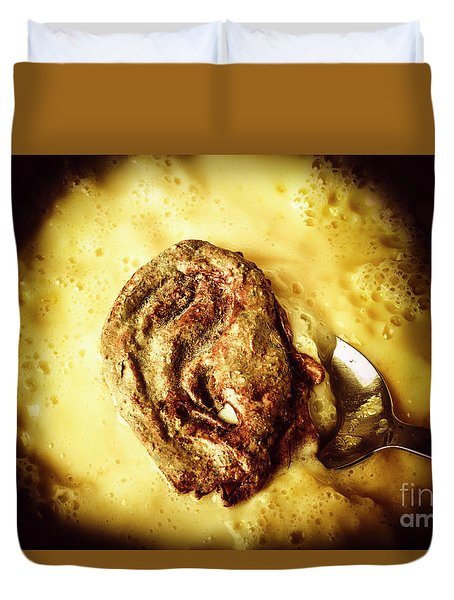 Speakeasy Pudding Duvet Cover