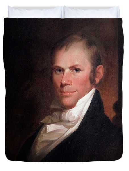 Speakers Of The United States House Of Representatives, Henry Clay, Kentucky  Duvet Cover