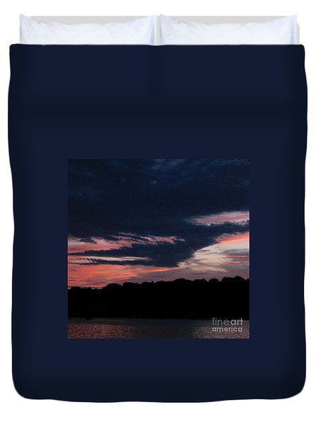 Spectacular Sunset Duvet Cover