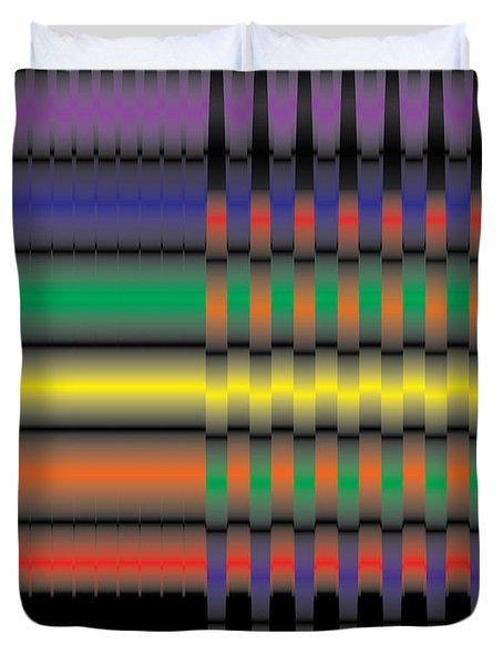 Spectral Integration Duvet Cover