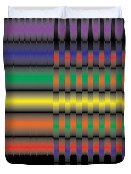 Spectral Integration Duvet Cover by Kevin McLaughlin