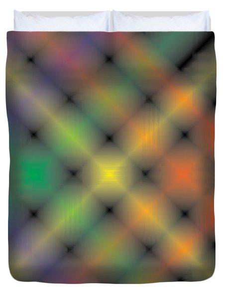 Spectral Shimmer Weave Duvet Cover