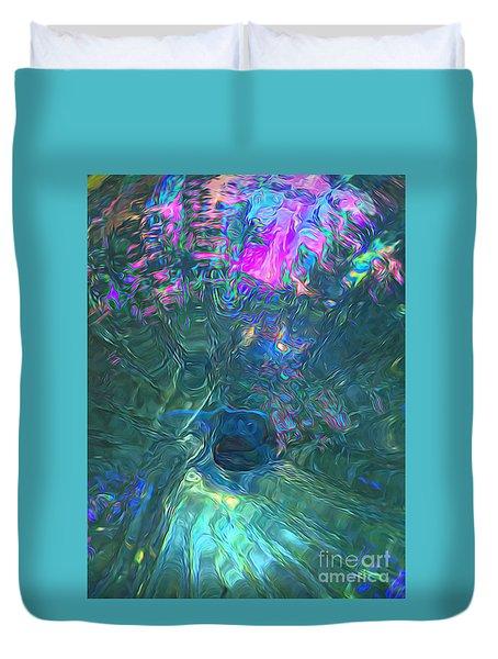 Spectral Sphere Duvet Cover
