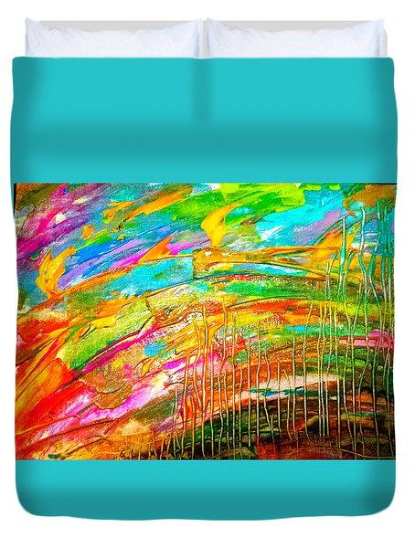 Spectrum Duvet Cover