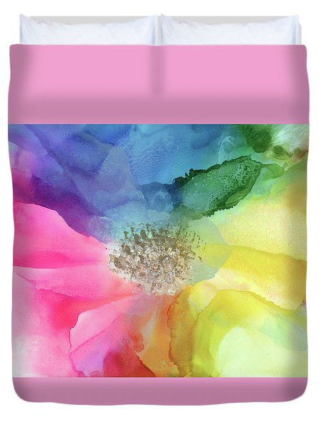 Spectrum Of Life Duvet Cover