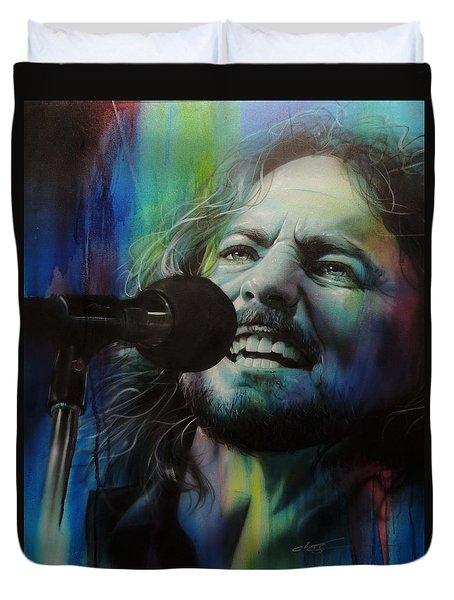 Eddie Vedder - ' Spectrum Of Vedder ' Duvet Cover