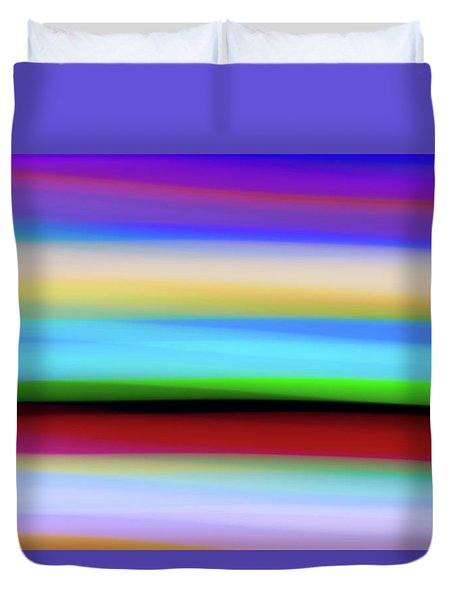 Speed Of Lights Duvet Cover