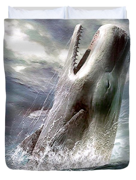 Sperm Whale Duvet Cover