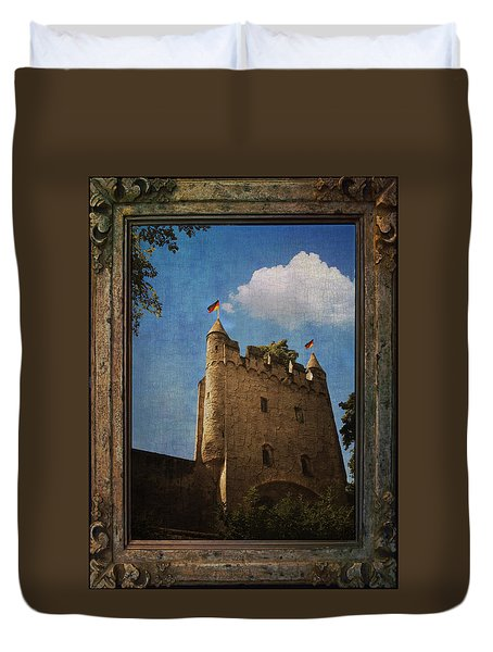Speyer Castle Duvet Cover