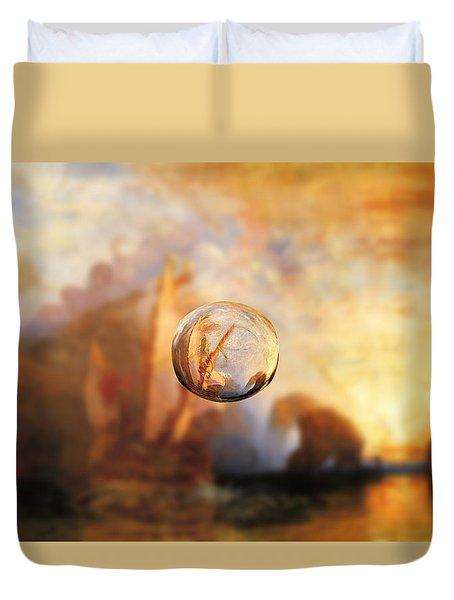 Sphere 11 Turner Duvet Cover by David Bridburg