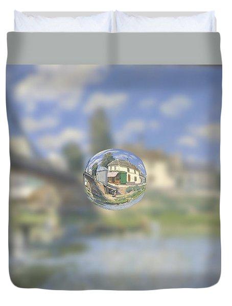 Sphere 18 Sisley Duvet Cover by David Bridburg