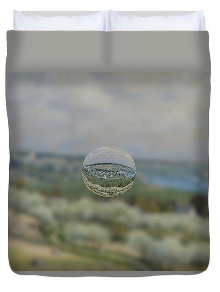 Sphere 24 Sisley Duvet Cover by David Bridburg