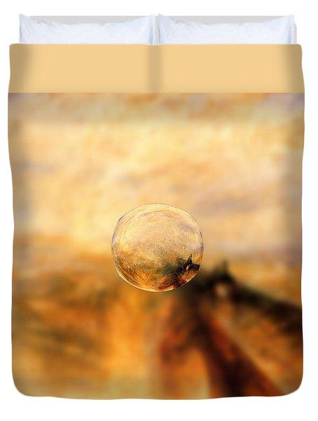 Sphere 8 Turner Duvet Cover by David Bridburg