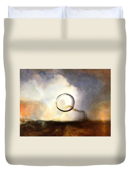 Sphere I Turner Duvet Cover