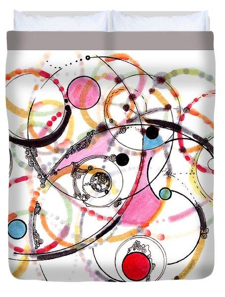 Spheres Of Influence Duvet Cover