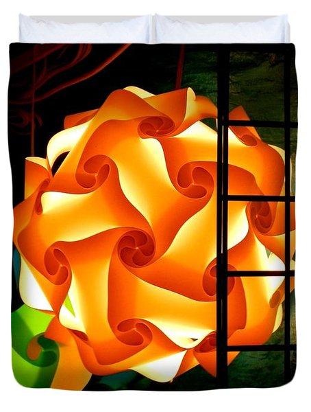 Spheres Of Light Electrified Duvet Cover