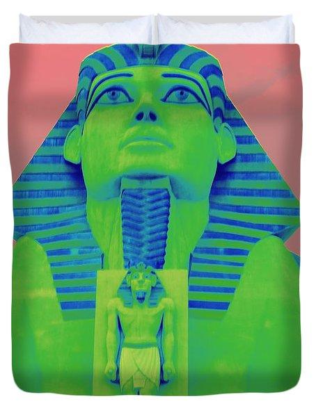 Sphinx At Luxor - 2 Duvet Cover