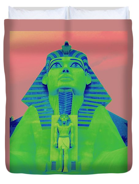 Sphinx At Luxor - 2 Duvet Cover