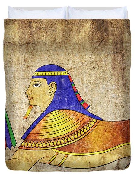 Sphinx Duvet Cover by Michal Boubin
