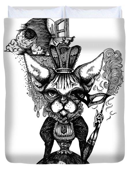 Sphynx Queen Duvet Cover