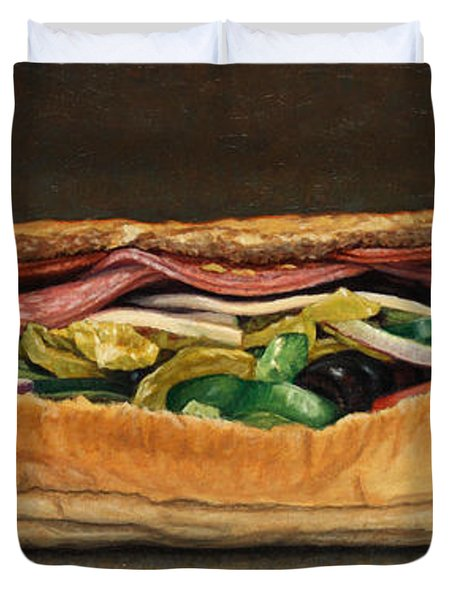 Spicy Italian Duvet Cover by James W Johnson