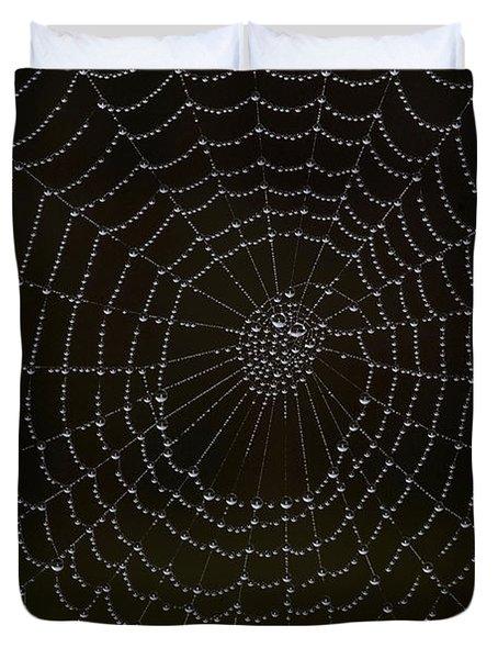 Spider Cobweb  Duvet Cover