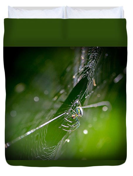 Spider Duvet Cover by Craig Szymanski
