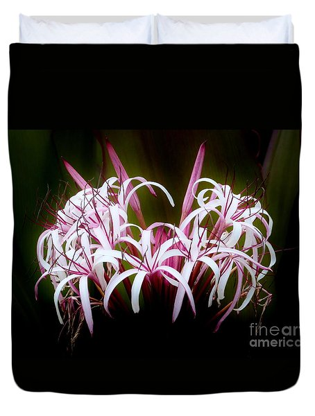 Spider Lilly Duvet Cover by Amar Sheow