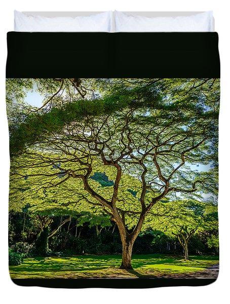 Spider Tree Duvet Cover
