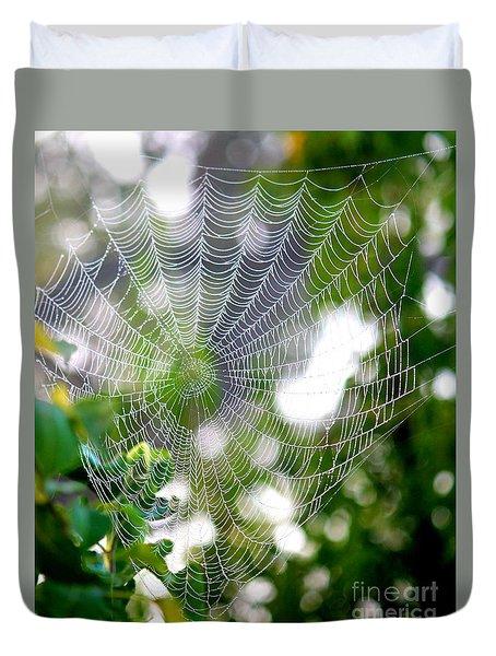 Spider Web 2 Duvet Cover