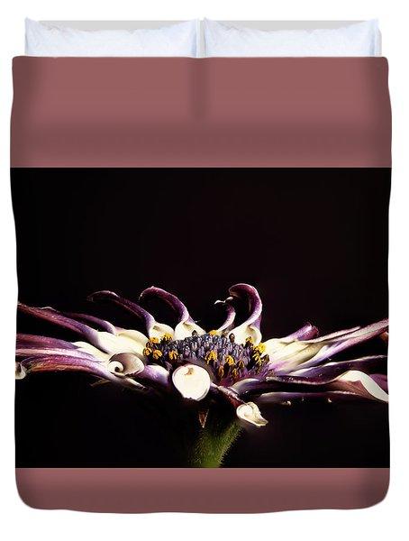 Spider White Duvet Cover
