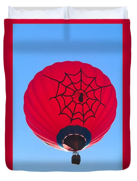Spiderballoon Duvet Cover