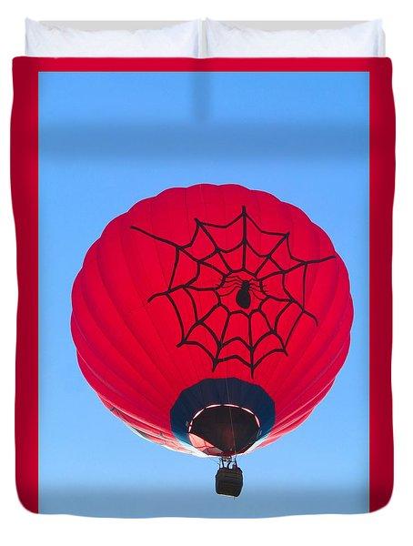 Spiderballoon Duvet Cover by Brenda Pressnall