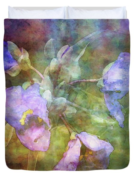 Spiderwort 1398 Idp_2 Duvet Cover