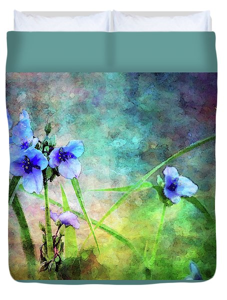 Spiderwort Dance 0115 Idp_2 Duvet Cover