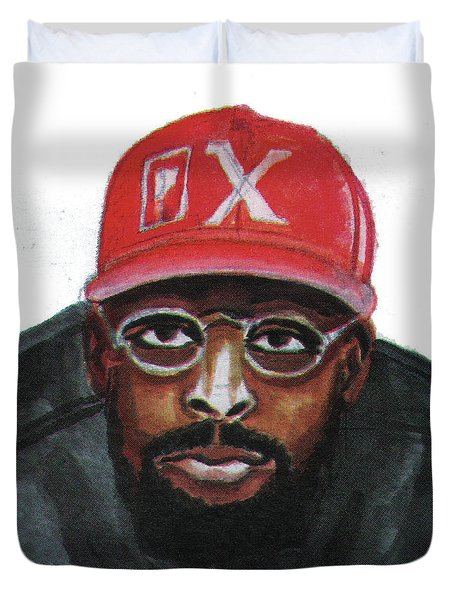 Spike Lee Duvet Cover by Emmanuel Baliyanga