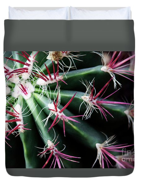 Spikes Duvet Cover