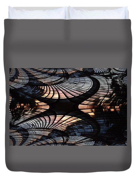 Spin Cycle Duvet Cover