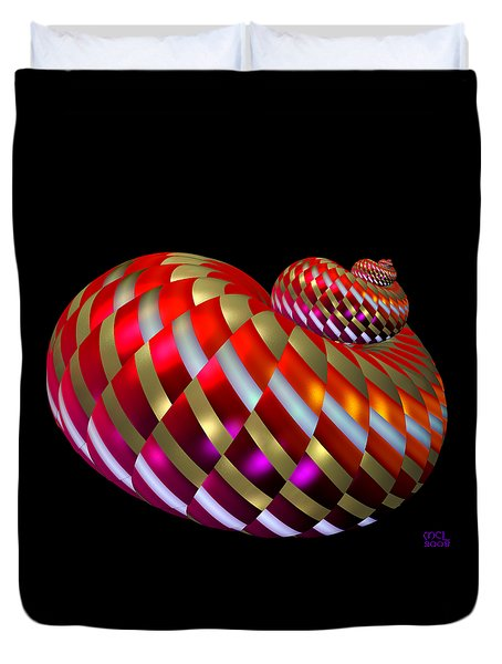 Spin-orbit Interaction Duvet Cover by Manny Lorenzo
