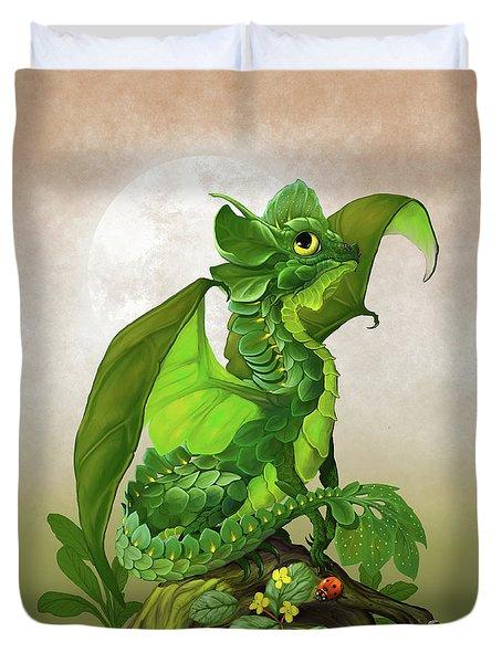 Spinach Dragon Duvet Cover