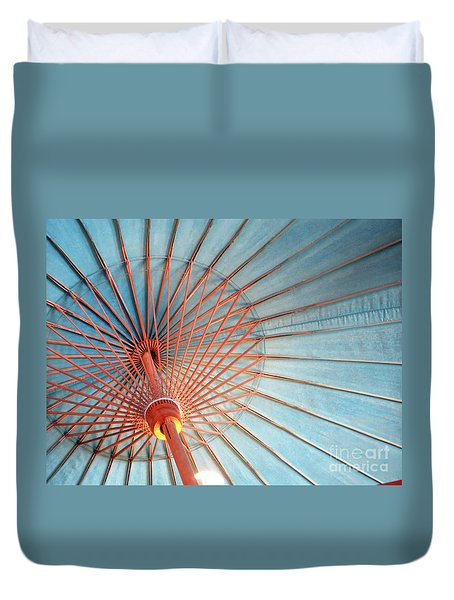 Spindles And Struts Duvet Cover