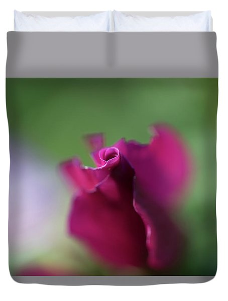 Spinning With Rose 2 Duvet Cover