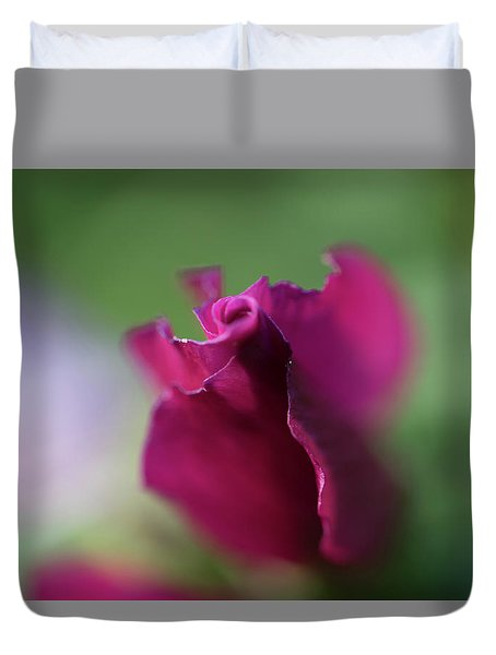 Spinning With Rose Duvet Cover