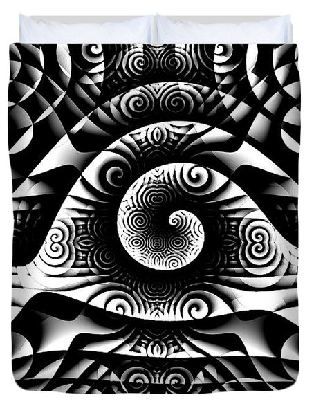 Spiral Abstract 1 Duvet Cover