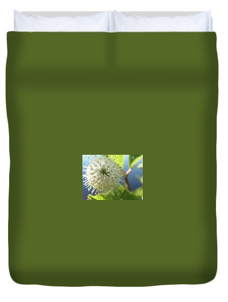 Duvet Cover featuring the photograph Spiral Beauty by Martha Ayotte